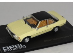 Opel Commodere B GS/e Coupe Geel Zwart 1:43