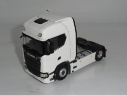 Scania S Highline New Generation trekker 4x2 Wit WSI 1:50
