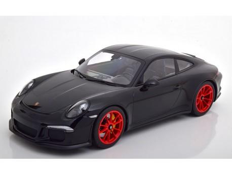 125-066322 Porsche 911R  991 Coupe 2016 Black. Minichamps 1:12